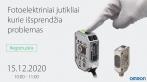 Kviečiame į internetinį seminarą apie naujų technologijų Omron fotojutiklius. Seminaras vyks lietuvių kalba!  Prisijunk