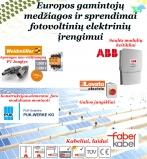 Naujienos fotovoltinių elektrinių įrengimui