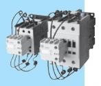 Kontaktoriai skirti COS(fi) kompensacijos įrangos kondensatorių baterijų komutavimui