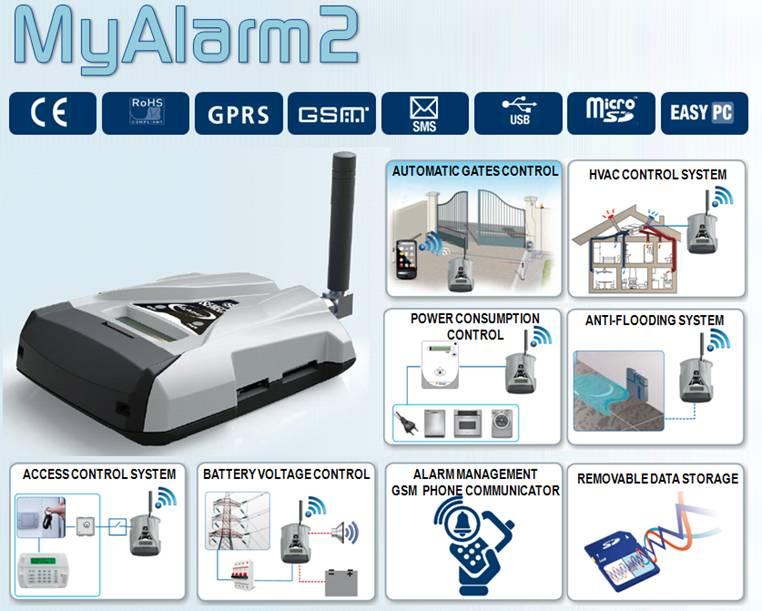 GSM distancinio valdymo ir duomenų perdavimo stotelė